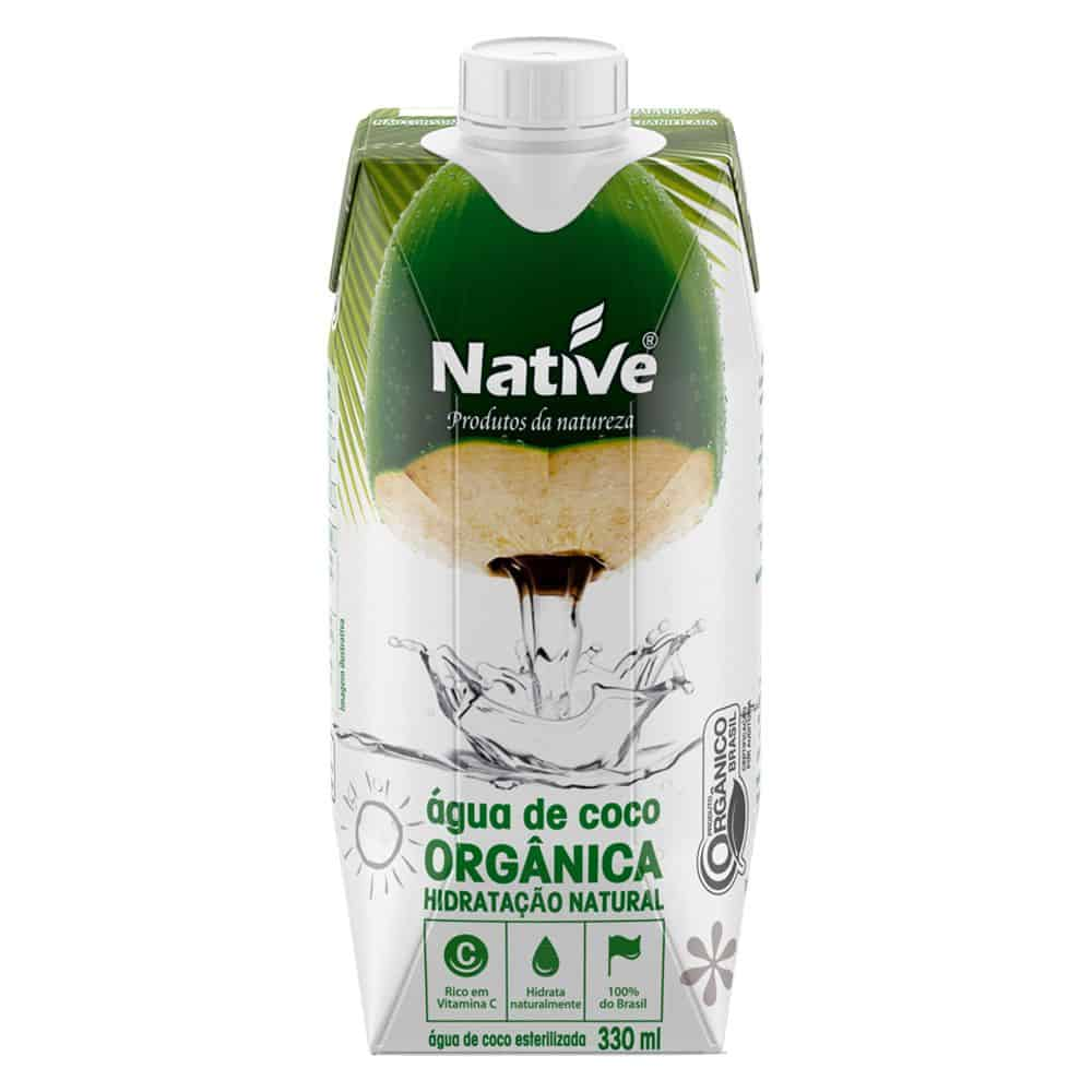 Agua de Coco Native Orgânica 330ml