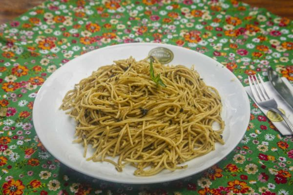Spaghetti au blé complet
