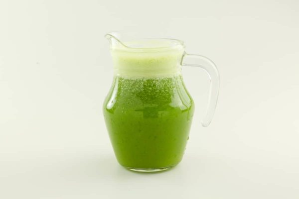 Green – coconut water, pineapple, kale, lemon balm and mint
