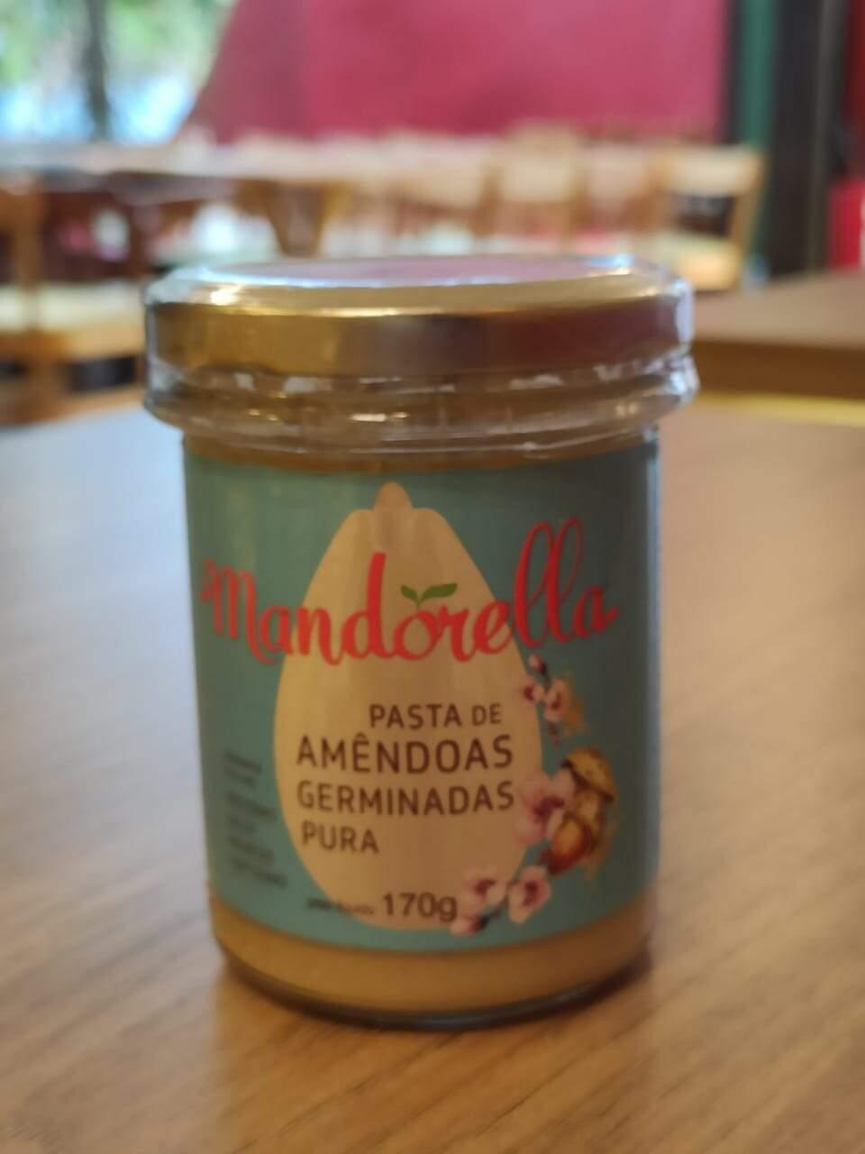 Pasta de Amêndoas Germinadas - 170g