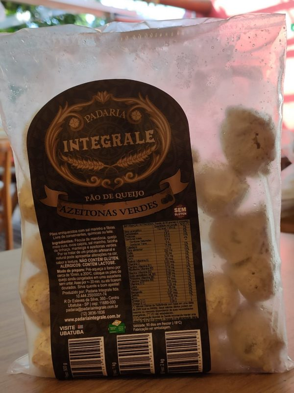 Brazilian Cheese Bread with Green Olives - Packet 500gr