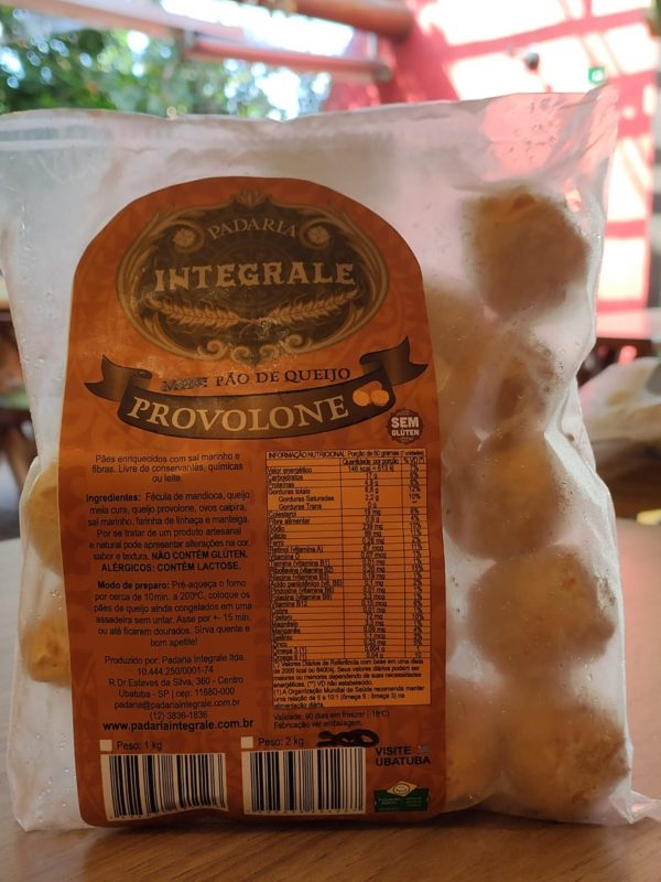 Brazilian Provolone Cheese Bread - Packet 500gr