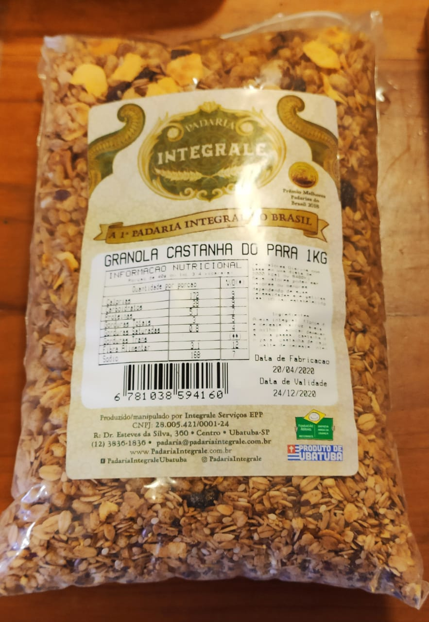 Granola Castanha do Pará Integrale - 1kg