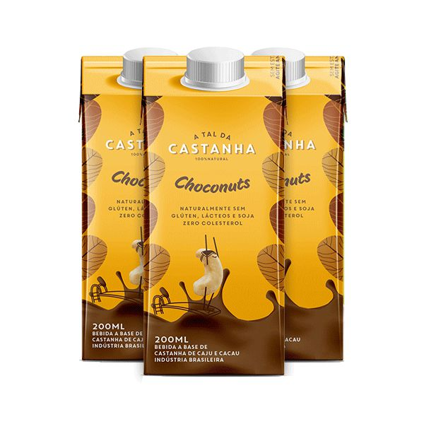 Bebida A Tal da Castanha choconuts - 200ml
